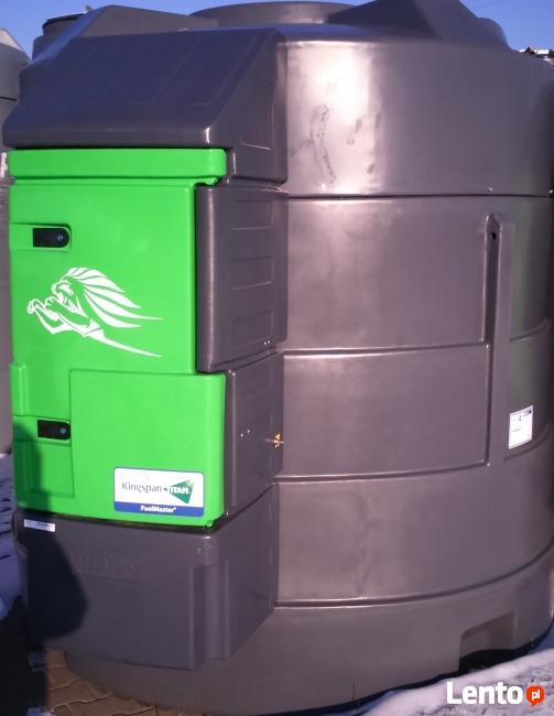 Zbiornik na paliwo, olej napędowy 5000 litrów.