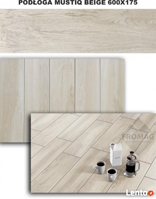 PŁYTKI PODŁOGOWE jak deska panel drewnopodobne FROMAG