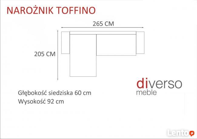 Nowoczesny Narożnik TOFFINO -producent-Kępno