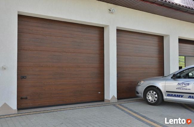 Brama garażowa segmentowa 240x200cm różne kolory rozmiary
