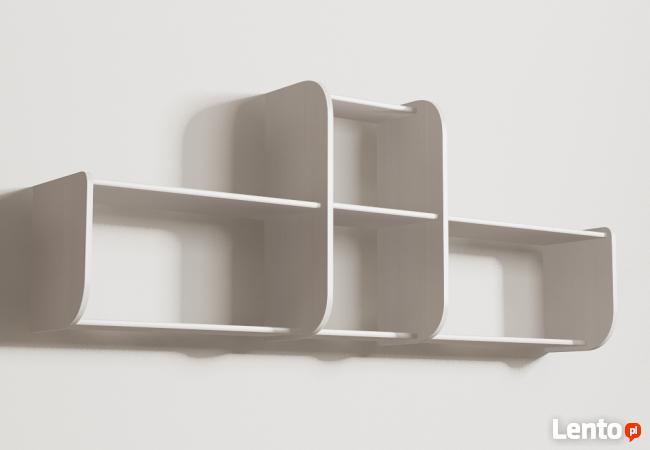 Segmentowa półka Detalion na ścianę książki dvd Katowice
