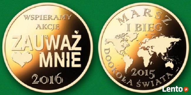 Medal Marsz i Bieg Dookoła Świata 2015 Zauważ Mnie 2016