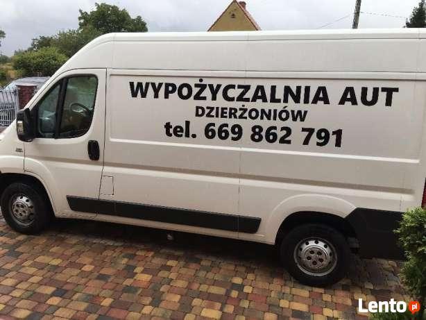 Wynajem busa/ wypożyczalnia aut dostawczych/wynajmę