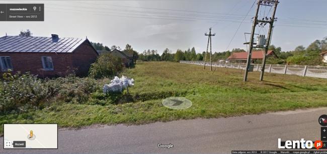 Działka budowlana 28 km od Warszawy