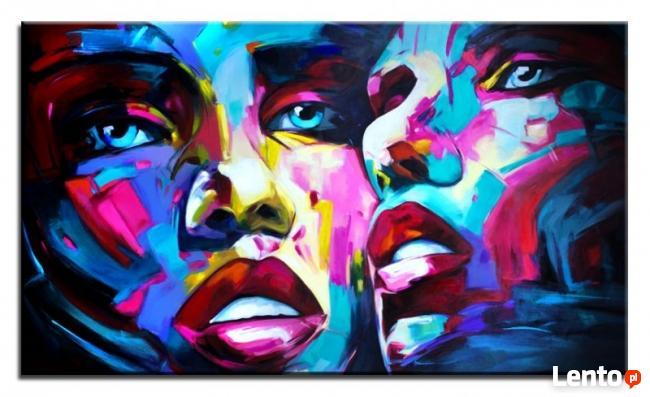 duża abstrakcja obraz olejny 160x95cm