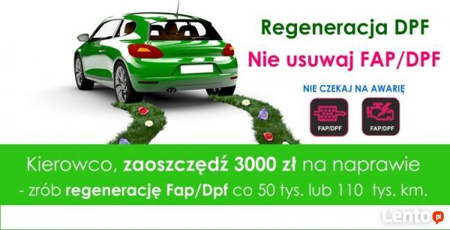 Regeneracja filtrów cząstek stałych FAP/DPF - Audi nr.1