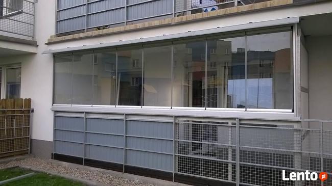 AluFusion przesuwne zabudowy balkonów i tarasów, balustrady