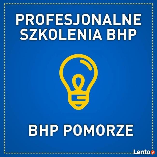 Szkolenie okresowe BHP 26.09.2018 r., Gdańsk. PROMOCJA