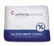 CEMENT BIAŁY - AALBORG white cement - bardzo mocny - 78 MPa