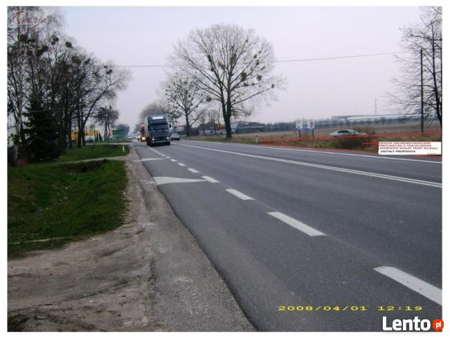 Wynajmę działkę w Błoniach koło trasy poznańskiej