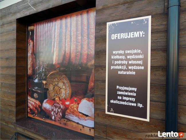 Reklama Mińsk Mazowiecki - Szyldy, Kasetony, Banery, Litery