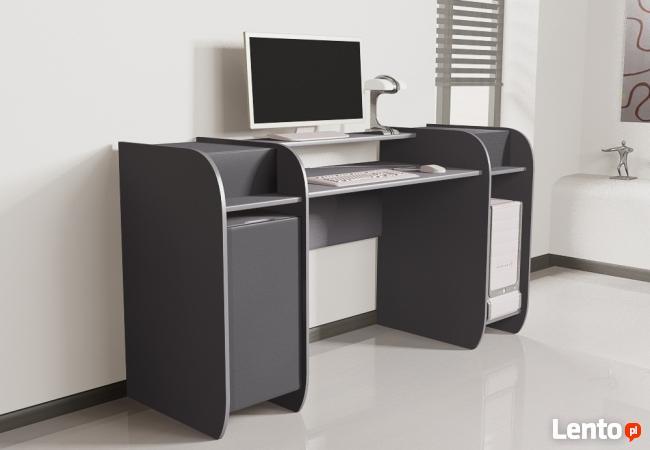 Designerskie modułowe biurko komputerowe Detalion do biura