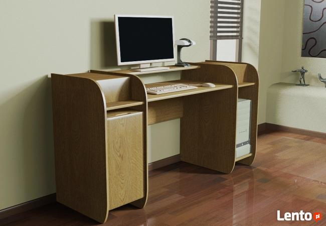 Designerskie modułowe biurko komputerowe Detalion Wrocław