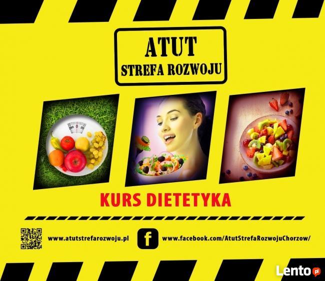 Kursy Dietetyka 50% zniżki w ATUT Strefa Rozwoju Chorzów