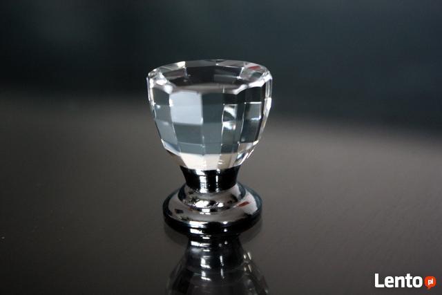 Uchwyt kryształowy do mebli