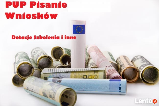 PUP dotacje szkolenia Biznesplan Pomoc Cała Polska