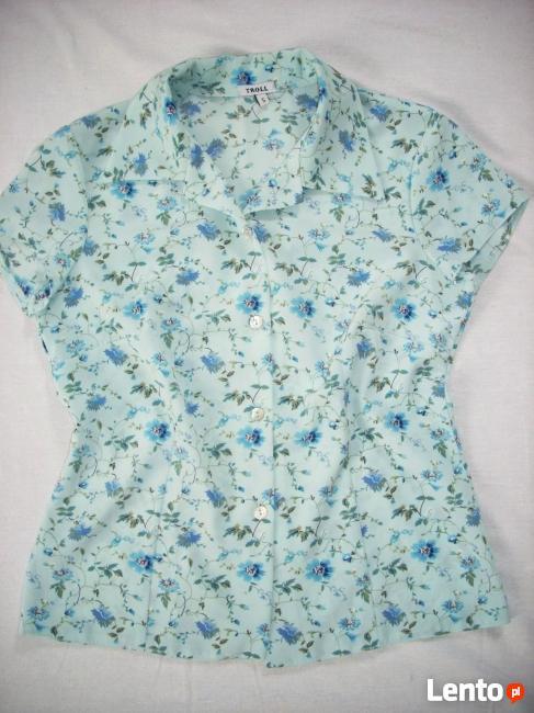 ROLL Koszula w kwiatki Chabry j Nowa36 38