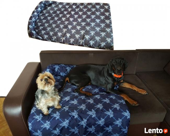 Legowisko dla psa retro wodoodporne typu protektor na kanapę