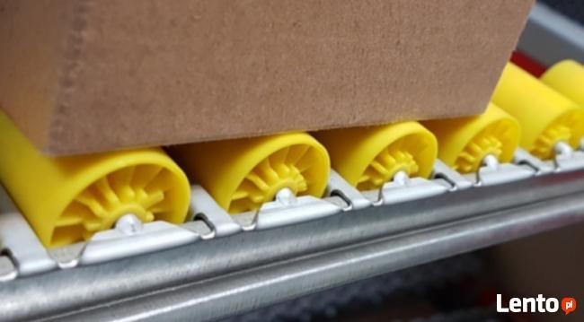 Najtańsza listw rolkowa - transport pudełek, paczek.