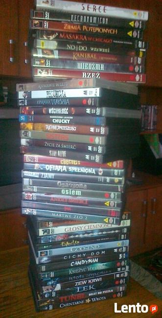 Kolekcja filmów DVD / HORRORY - część 2