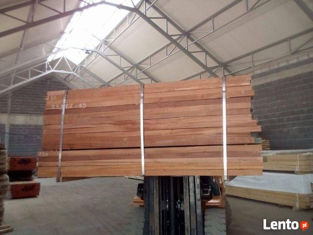 Tarcica SAPELI egzotyczna 28-33mm, 52mm wysyłka drewno