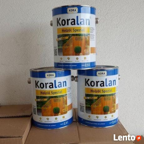 Olej do drewna Koralan® Holzöl Spezial bezbarwny 2,5l