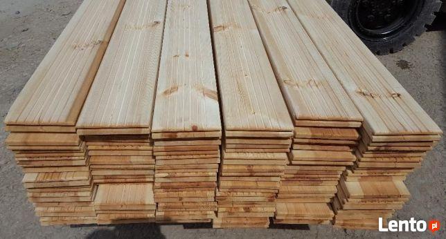 Trwała Deska tarasowa SOSNA Naturalna 28x145mm tanio