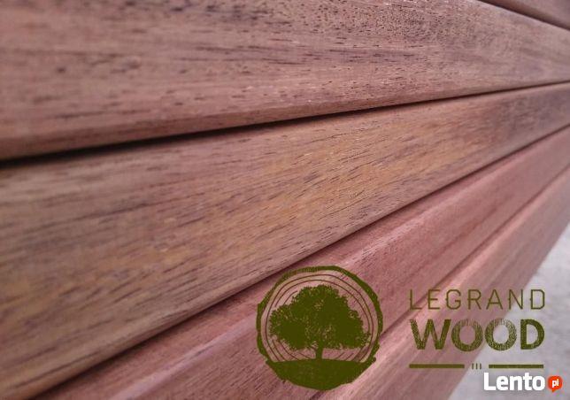 Tarcica egzotyczna MERBAU 45mm wysyłka drewno deski