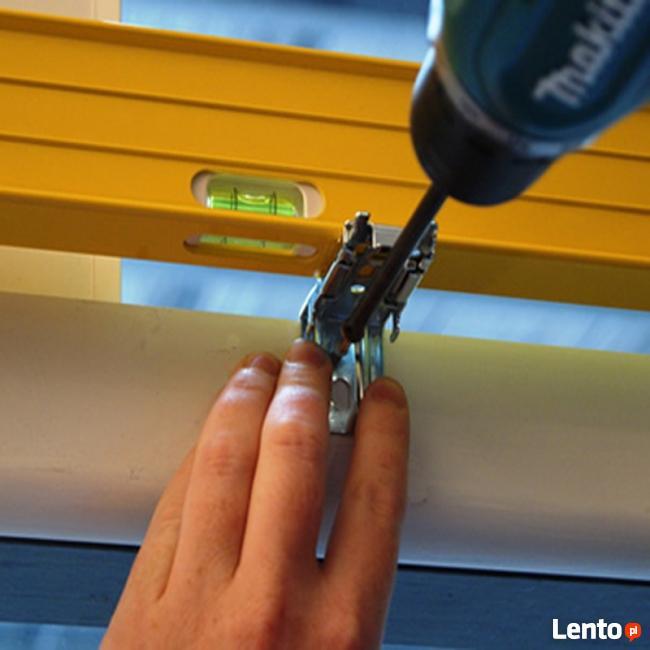 Sprzedaż i montaż rolety, karnisze, żaluzje, moskitiery