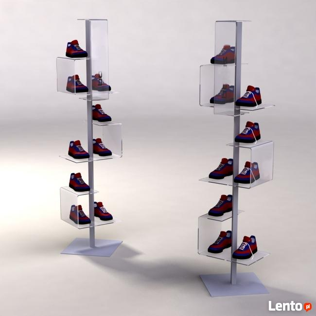 Ekspozytor na obuwie Stand na buty Prezenter na obuwie