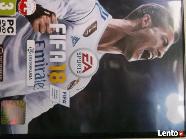Sprzedam grę FIFA 2018 - wersja oryginalna.