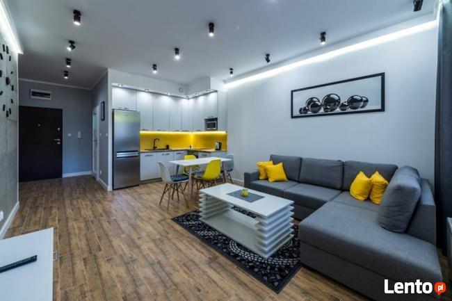 Nowy apartament blisko plaży, centrum Giżycka
