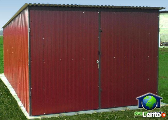 Garaże blaszane 3x5 Blaszaki Brąz transport i montaż gratis
