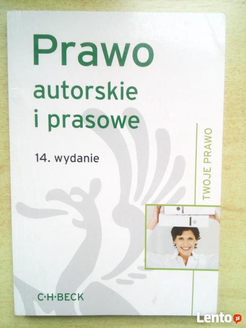 Prawo autorskie i prasowe, 14. wydanie
