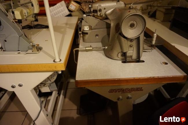 Maszyna do szycia podszywarka strobel-płaszcze maier i inne