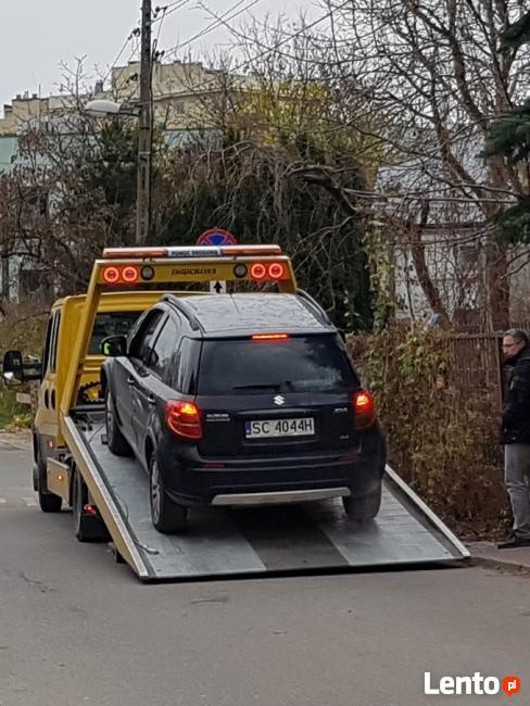Pomoc Drogowa Ochota 24h Odpalanie 12/24V Holowanie Laweta