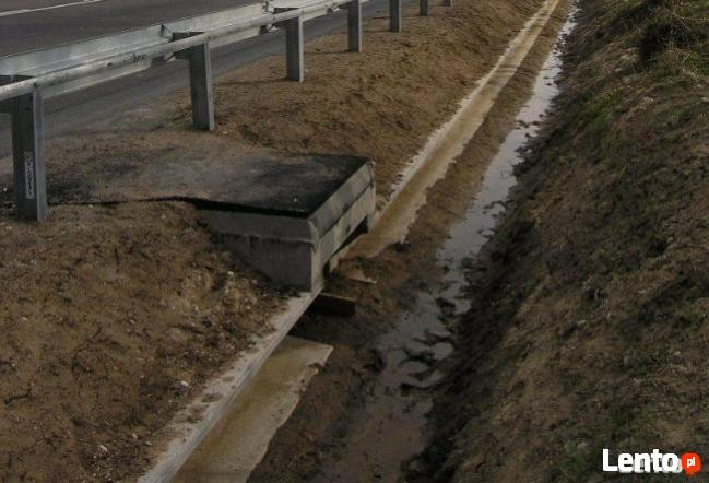 Płotki przeciw płazom z betonu typ C