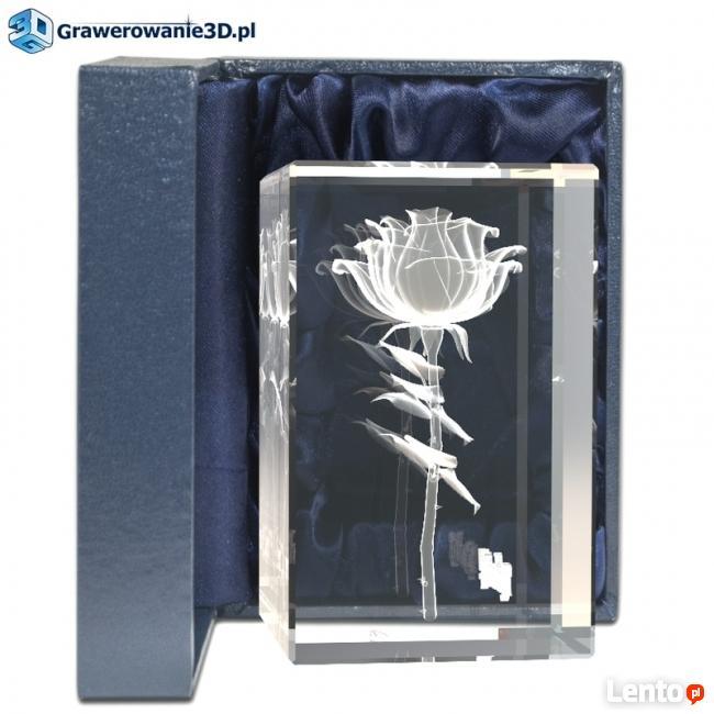 Róża 3D kwiat miłości wyjątkowy prezent na walentynki