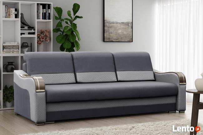 PROMOCJA kanapa sofa rozkładana pojemnik funkcja spania
