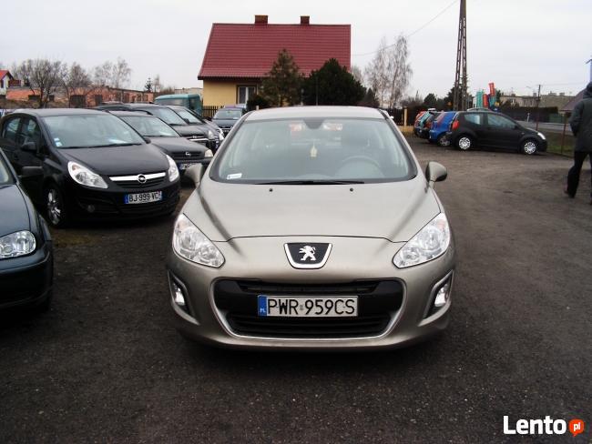 Peugeot 308 / 1,6 HDI 90 KM / 2011 r
