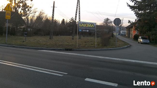Na sprzedaż działka budowlano-przemysłowa 1286m2