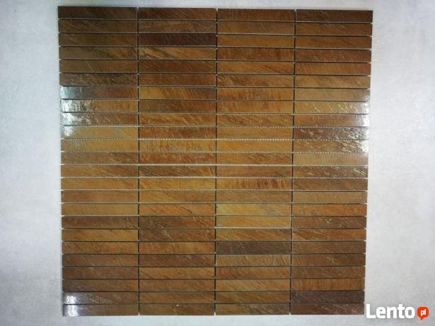 Promocja!!! Mozaika gresowa paseczki 25x25 półpoler ELIOS