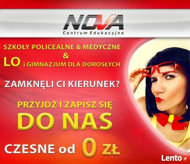 Centrum Edukacyjne NOVA - Liceum dla Dorosłych 0zł !