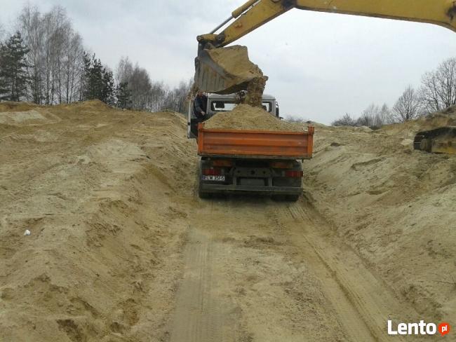 Transport piasek(piach),ziemia,czarnoziem,kruszywa,żwiry