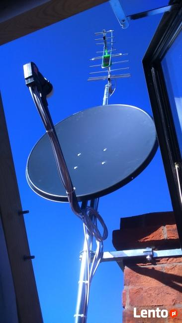 Ustawienie anteny, montaż, polsat, nc+, DVB-T