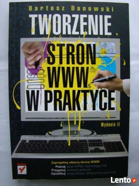 Tworzenie stron www w praktyce + płyta CD-ROM