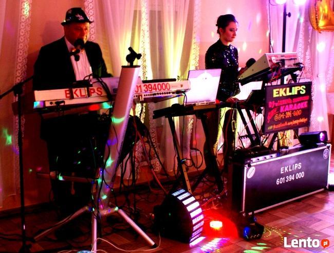 Zespół muzyczny i jako Dj - je śpiewają grają Duet mieszany