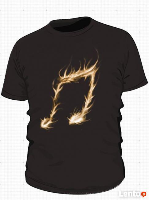 Futurystyczne Koszulki T-shirty Patxgraphic z grafikami