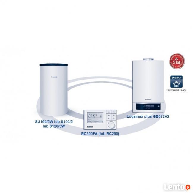 Kocioł gazowy kondensacyjny jednofunkcyjny Buderus GB 072 24