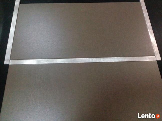 Tani dekor listwa aluminiowa do płytek 2x60